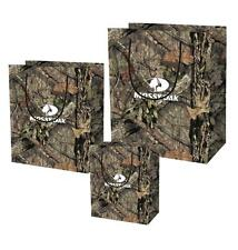 MOSSY OAK CAMO PARTY GIFT BAG BIRTHDAY ANNIVERSARY WEDDING 3pc WRAPPING S M L