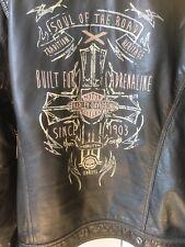 Genuine Men's Harley Davidson Leather Jacket Size L