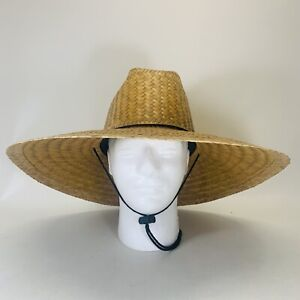"Original Mexican Outdoor Sunshade Gardening Beach Sombrero 18"" Palm Hat"