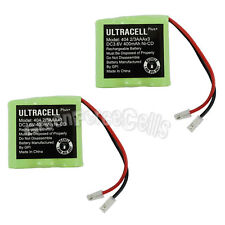 2 pcs 3.6V 2/3AAA Ni-CD 400mAh Rechargeable Battery Pack Cell P404 Ultacell