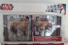 COMMEMORATIVE TIN COLLECTION Star Wars Clone Wars 2009 Ventress Dooku Kenobi Rex