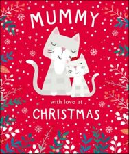 Mummy Cute Tiger Tail Christmas Greeting Card Family Relations Xmas Cards