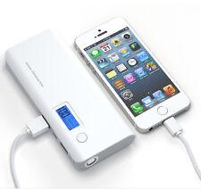 AU Grey Portable 50000mAh External PowerBank 2USB LCD LED Backup Battery Charger