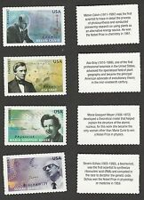 US 4541-4544 American Scientists forever set (4 stamps) MNH 2011