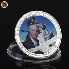 WR George Washington 1. US-Präsident Silber Gedenkmünze Sammlung
