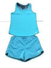 Wilson Tennis Tank Top And Shorts Girls 11-12 Years
