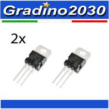 2x L7805CV LM7805 Regolatori di Tensione 5 V, 1,5A - Voltage Regulator