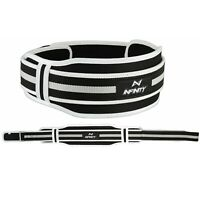 Weight Lifting Gym Fitness Silver Training Weight Lifting Belt back support