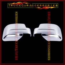 For DODGE Nitro 2007 2008 2009 2010 2011 2012 Chrome Full Mirror Covers PAIR 2PC