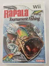 RAPALA TOURNAMENT FISHING PER NINTENDO WII (NUOVO E SIGILLATO)