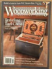 Woodworking Traveling Tool Chest Small Footprint August 2015 FREE SHIPPING!