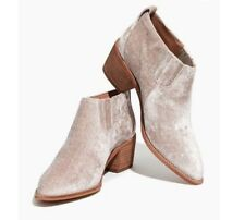 NIB SOLD OUT Madewell The Grayson Chelsea Boots in Velvet Size 8.5/9