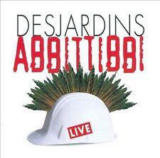 RICHARD DESJARDINS/ABBITTIBBI - DESJARDINS ABBITTIBBI LIVE NEW CD