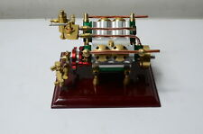 The V4-cylinder steam engine ( with Steam boiler feed pump) Free Shipping