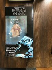 "Star Wars 6"" Black Series YODA FORCE SPIRIT The Last Jedi Walmart"