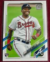 2021 Topps Series 1 Cristian Pache #187 Rookie RC Braves