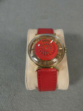 Key West Mystery Dial Cocktail Uhr Swiss Made Armbanduhr läuft vintage