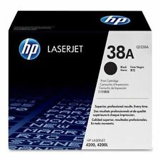 Genuine HP 38a Black Original LaserJet Toner Cartridge Q1338A