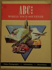 ABC World tour Programme 1982/83
