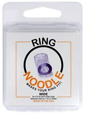Ring Guard, Ring Size Reducer by RING NOODLE  - 3 pack (WIDE)