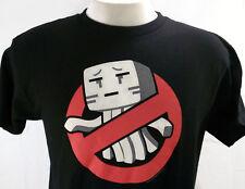 Minecraft Ghastbusters T Shirt Men Jinx Black Mojang Video Game Gamer Small