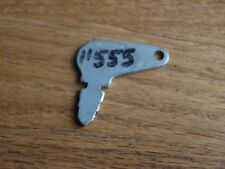 Vintage Antique 11555 12315 Ignition Key Polaris Snowmobile Cole Hersee 83353