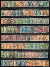 CHINA LARGE LOT OF USED JUNK BOAT STAMPS WITH CANCEL POTENTIAL #4