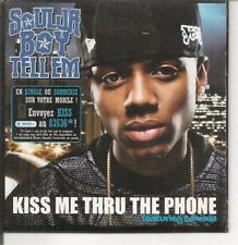 CD SINGLE 2 TITRES--SOULJA BOY TELL'EM--KISS ME THRU THE PHONE--2000