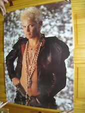 Billy Idol Poster Sexy Portrait