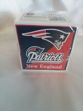 NFL Team Cube Sticky Notes. New England Patriots