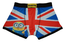 Minions Union Jack - Men's size Small boxer shorts