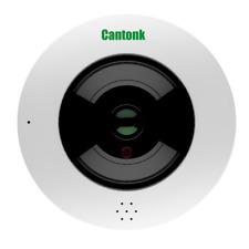 Cantonk IPDE20F300 - Telecamera fish-eye 360° panoramica, Full HD