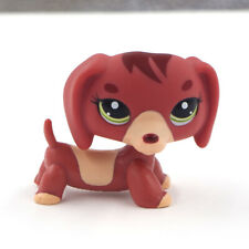 LPS #556 Dog Figure Toys Long Ears Dachshund Kids Gift Littlest Pet Shop