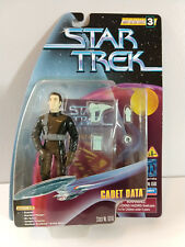 Star Trek TNG Cadet Data, Warp Factor 3 Series, Playmates 65116