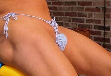 MENS CROCHET THONG  - WEAR IT UP OR WEAR IT DOWN IN ANY COLOR & SIZE + 80 MORE