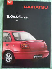 Daihatsu Valera range brochure Feb 1995 Dutch text + price list