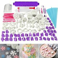 BESTOMZ 94pcs Fondant Cake Cutter Cookie Bakeware Icing Decoration Kit with