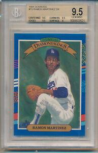 1991 Donruss Ramon Martinez Diamond King (#15) BGS9.5 BGS