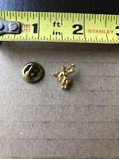Vtg Mini Gold Toned Cherub Lapel Pin