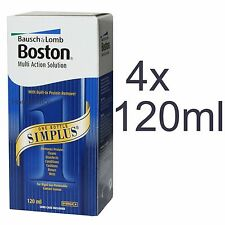Bausch & Lomb Boston Simplus Multi Action Contact Lens Solution 4 x 120ml