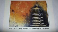 Art card signed by jorg schmeisser