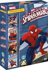 ULTIMATE SPIDERMAN Volumes 1 to 4 DVD NEW 2013 Region 2