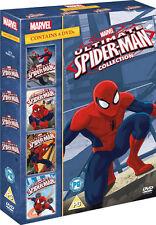 Marvel ULTIMATE SPIDERMAN Volumes 1 to 4 DVD NEW Region 2
