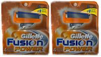 Gillette Fusion Power Refill Razor Blade Cartridges, 8 Ct.