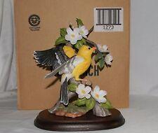 NIB HOMCO Masterpiece Porcelain Bird Goldfinch Birds of Season Figurine 1994