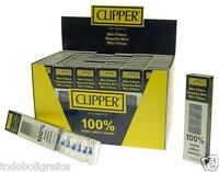 Filtros Regulares Mini CLipper. 48 Paquetes de 10 boquillas.c/u. Full Box.