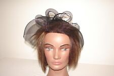 Women's Hat Millinery Modern Crazy Hair Fascinator Pony Tail Embellishment