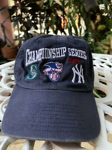Cool Championship series 2000  NY AL Seattle Mariners  cap hat Baseball Trucker