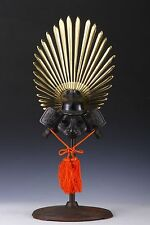 Samurai Helmet -Hideyoshi small size helmet with a traditional cushion-
