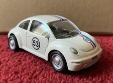 1:43 Herbie Replica Pull Back New VW Volkswagen Bug Beetle *** RARE ***